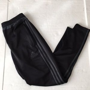 Adidas Climacool Black Grey Tapered Soccer Pants